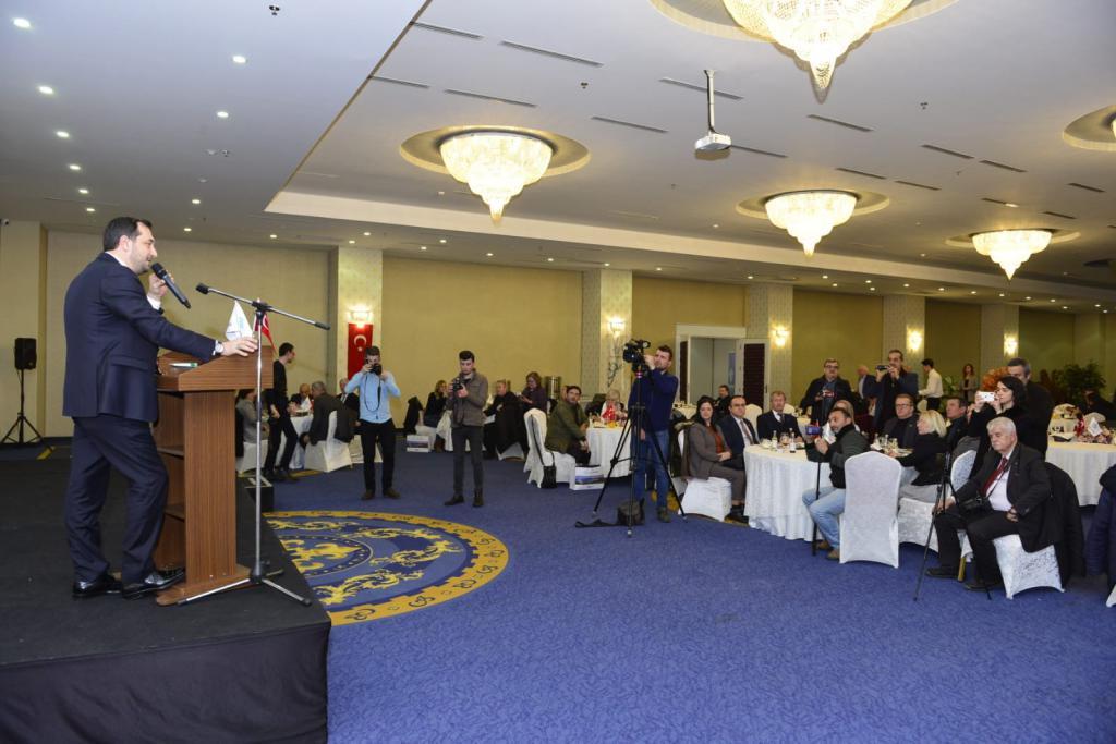Başkan Yüksel gazetecileri ağırladı