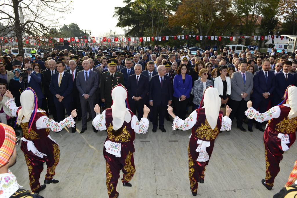 Tekirdağ'ın düşman işgalinden kurtuluşunun 97. yıldönümü törenle kutlandı