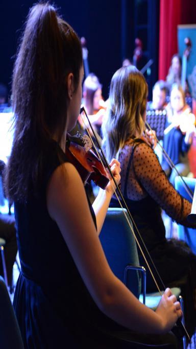 Süleymanpaşa'da Balkan Senfoni Orkestrası rüzgarı