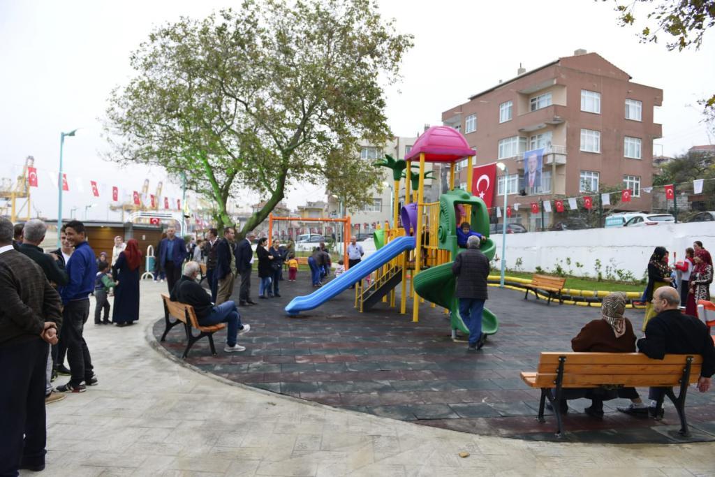 Fikret Yılmaz Parkı ve Bulvar Yolu törenle açıldı