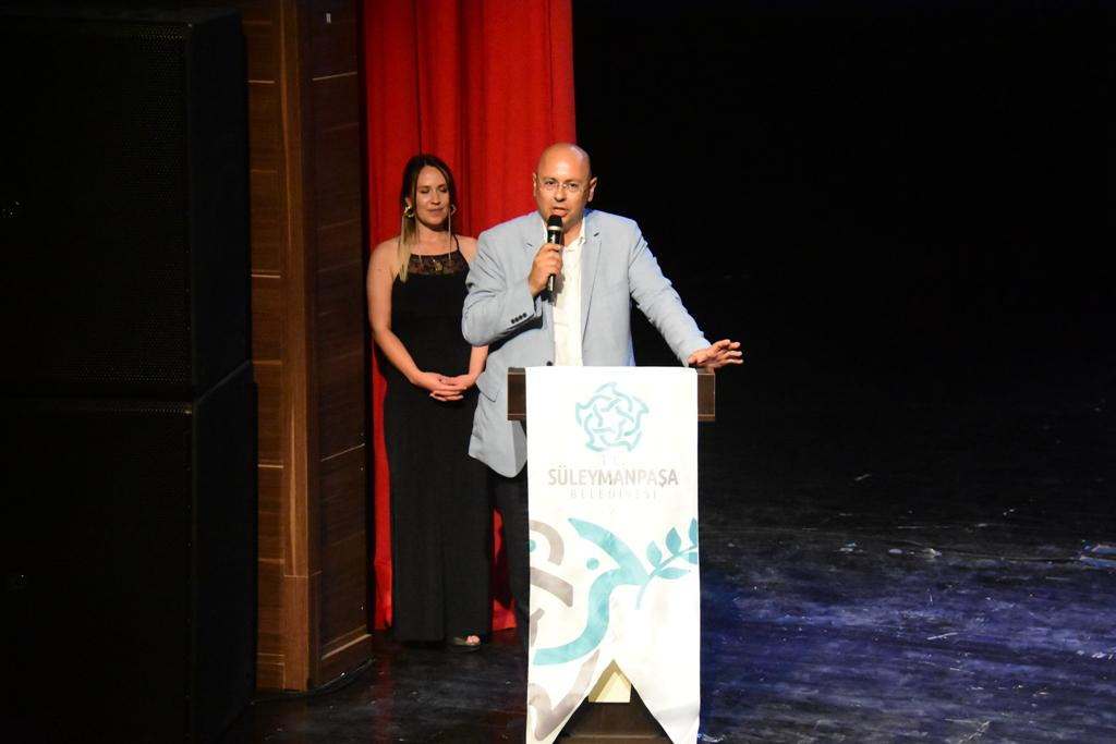 Süleymanpaşa Belediye Konservatuvarı'nda mezuniyet coşkusu