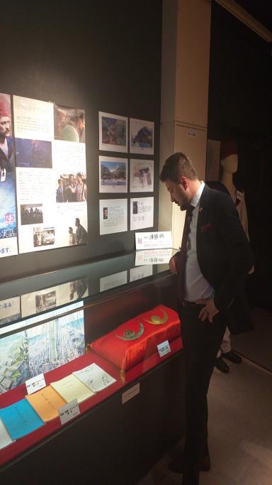 Başkan Yüksel Japonya Kushimoto'da