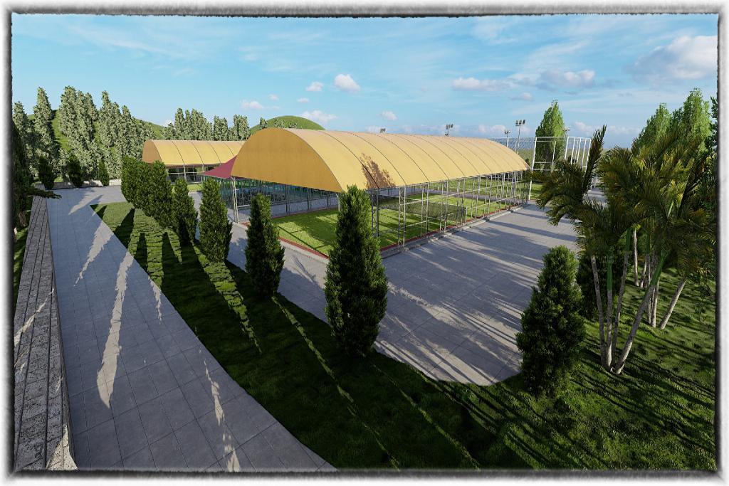 100. Yıl Gençlik Merkezi'nin tüm spor tesisleri yenileniyor