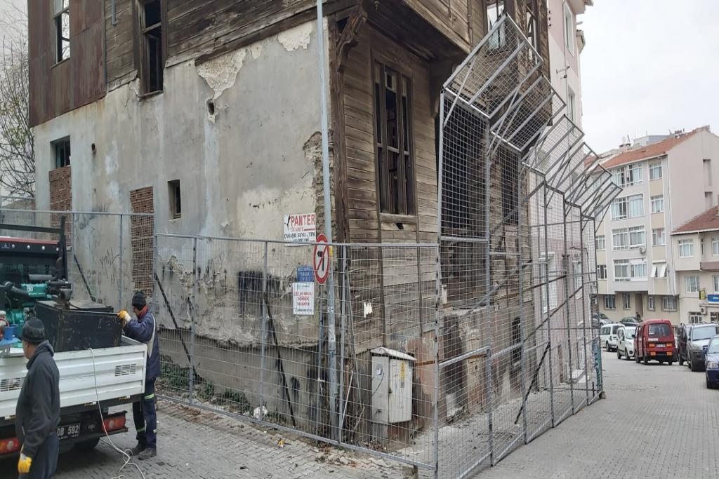 Süleymanpaşa Belediyesi, metruk binaları koruma altına alıyor
