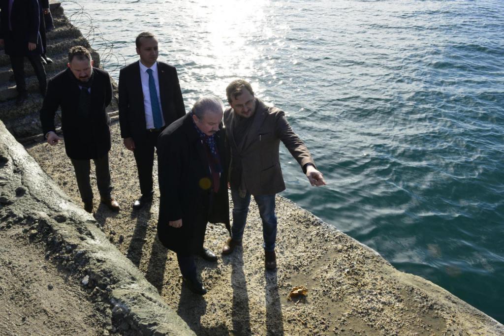 TBMM Başkanı Şentop, vizyon projesini yerinde inceledi