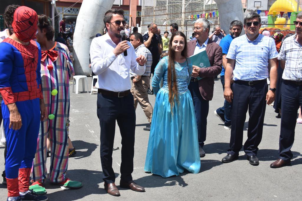 Karne şenliği Süleymanpaşa İlkokulu ile sona erdi