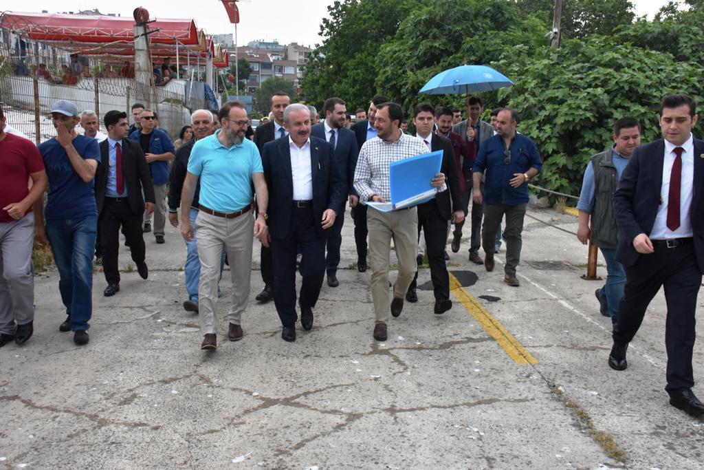 Başkan Yüksel eski iskeleyi şehre kazandırmak için çalışmalara başladı
