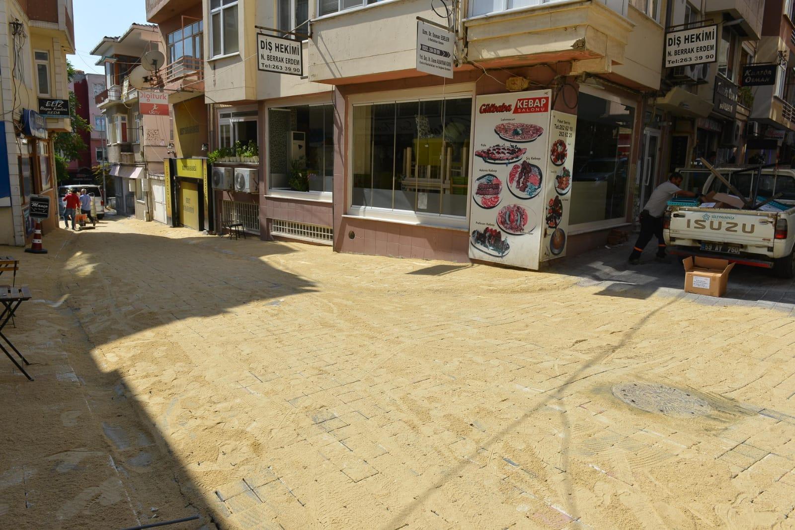 Süleymanpaşa Belediyesinden yol atılımı