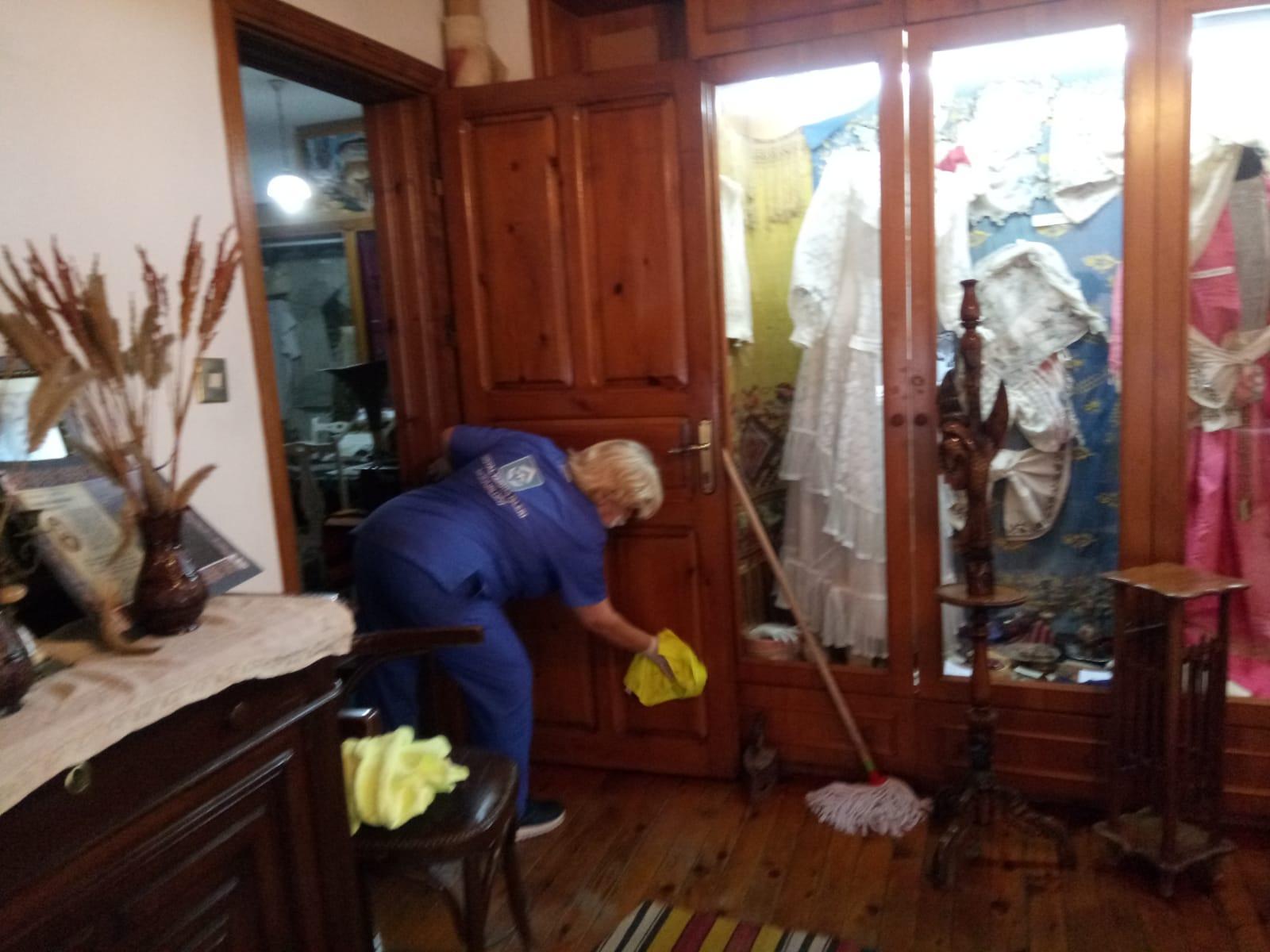 Namık Kemal Evi düzenli olarak temizleniyor