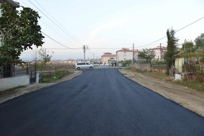 Karadeniz Mahallesi yeni yolları ile pırıl pırıl