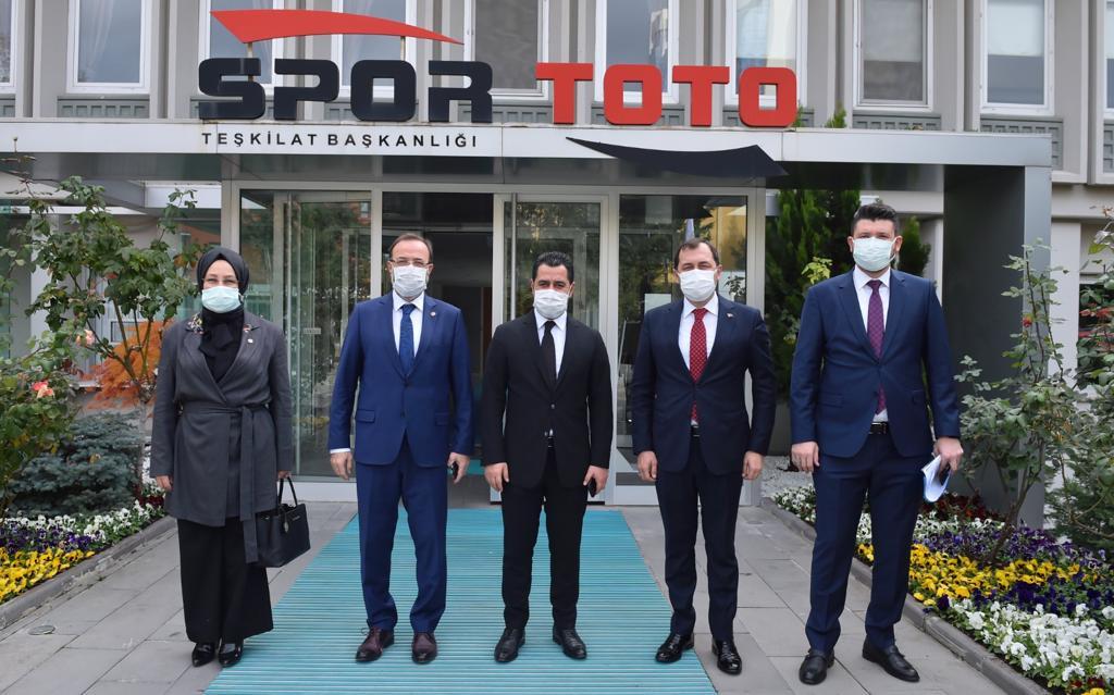 Başkan Yüksel Ankara'da bir dizi üst düzey temasta bulundu