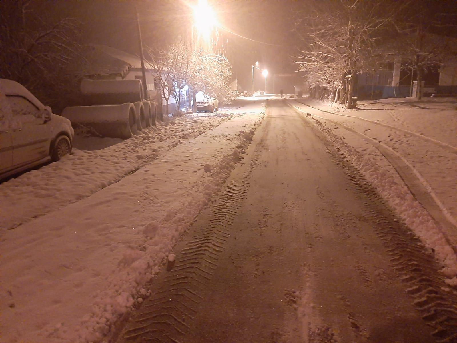 Süleymanpaşa Belediyesinden kar mesaisi