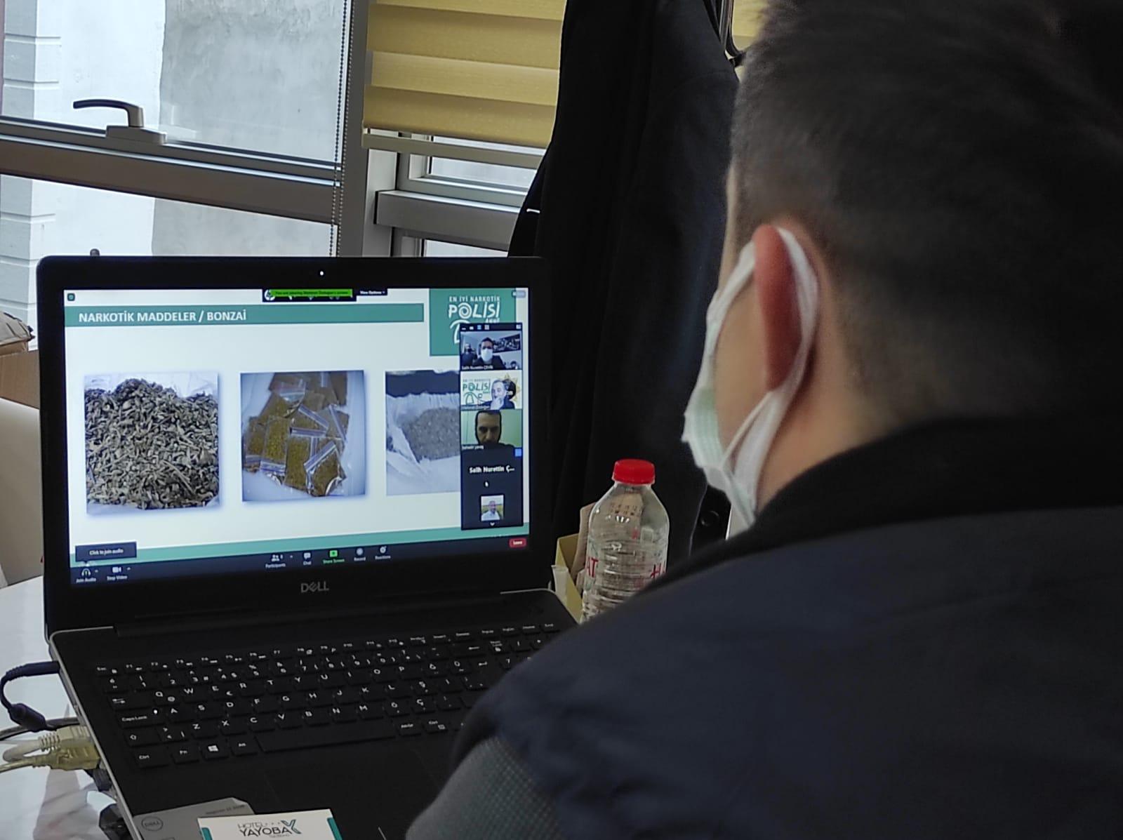 Emniyetten Süleymanpaşa Belediyesi personeline çevrimiçi eğitim