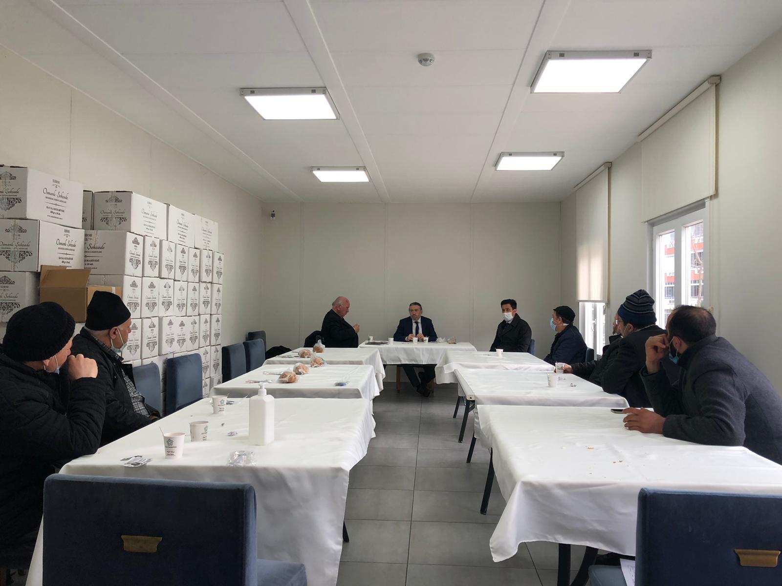 Din görevlileri ile bilgilendirme kahvaltıları sürüyor