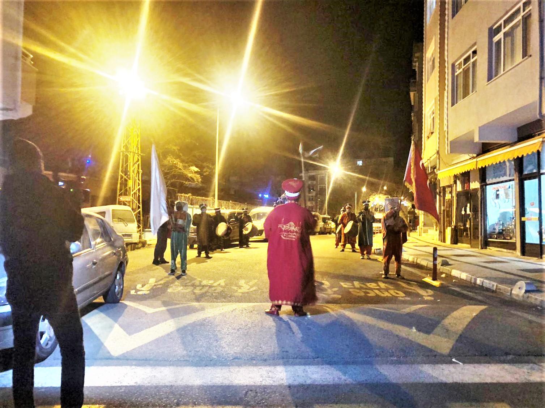 Ramazan ruhu Sahur Bandosu ve Mehteran ile yaşatılıyor
