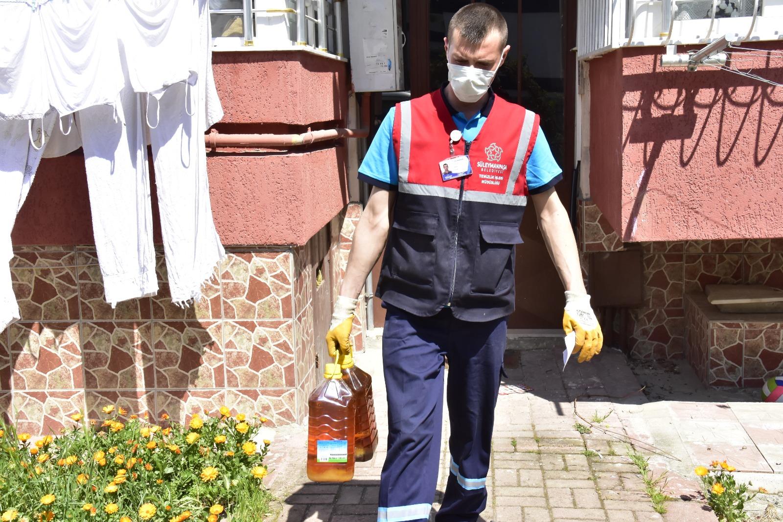 Süleymanpaşa Belediyesi atık yağlardan biyoyakıt elde edecek