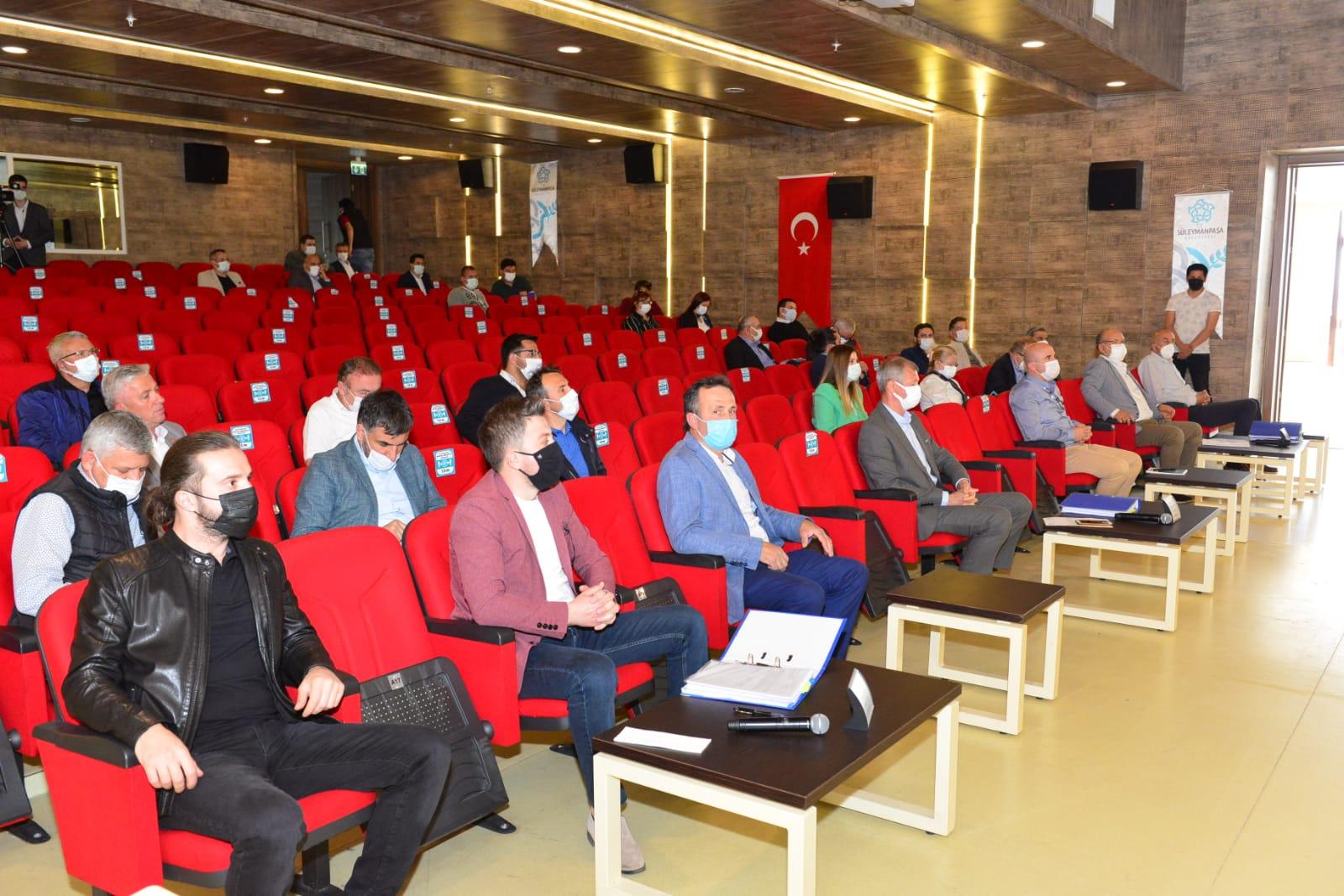 Süleymanpaşa Belediyesinden kapalı esnafa cansuyu