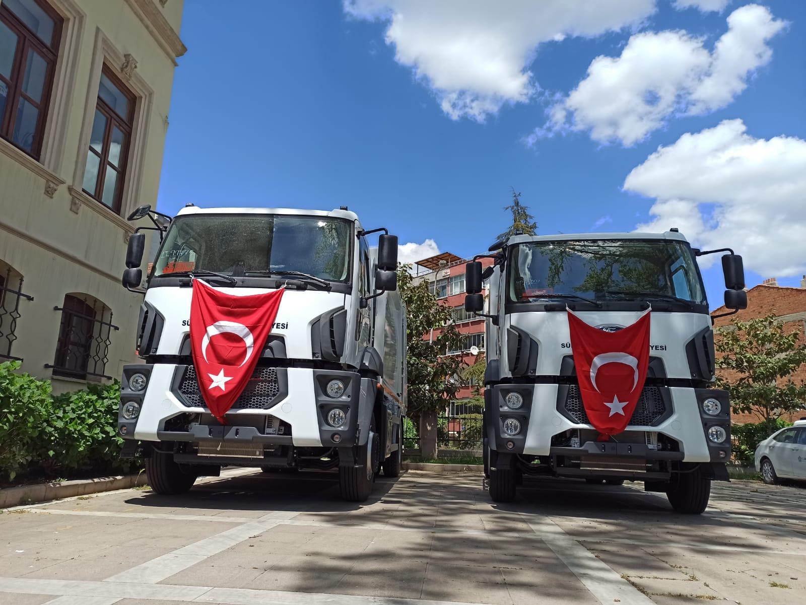 Süleymanpaşa Belediyesi araç filosunu büyütüyor