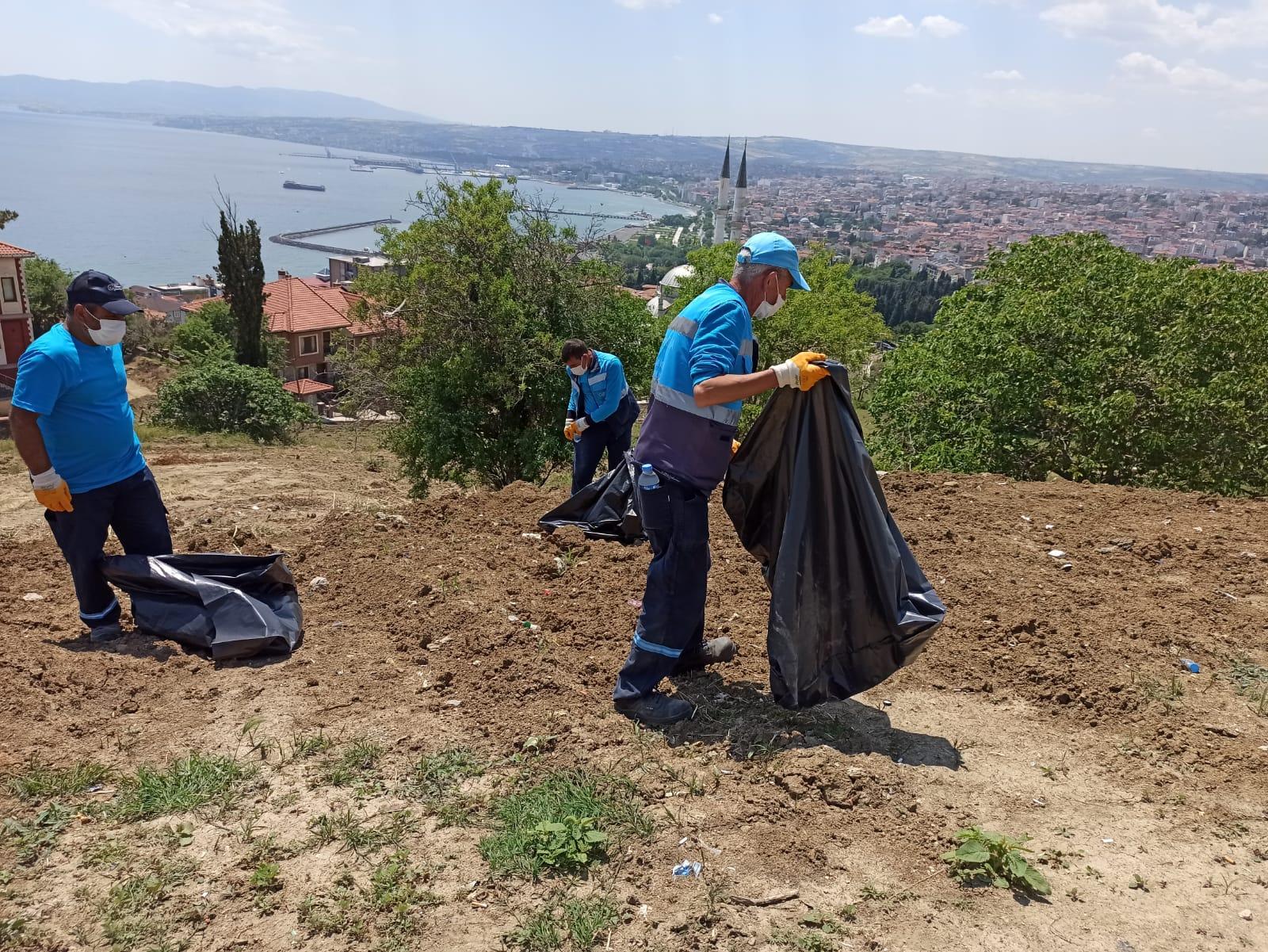 Süleymanpaşa Belediyesinden temiz çevre mesajı