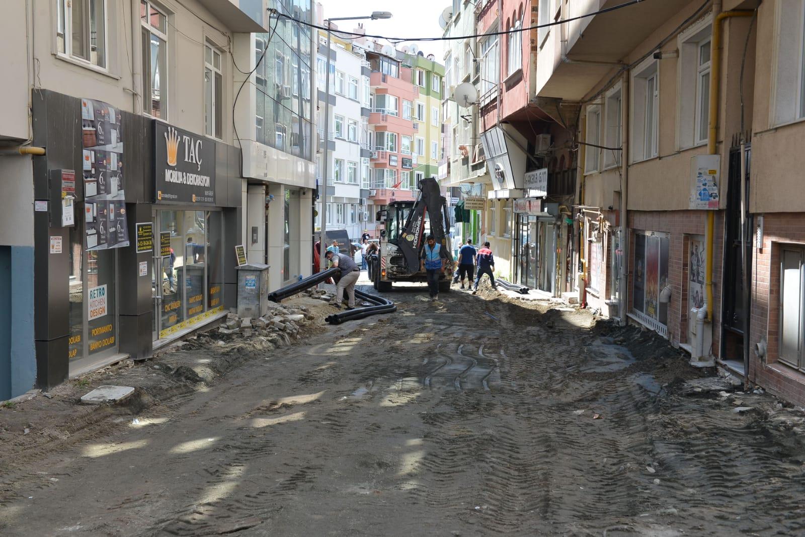 Yunusbey Caddesi yenileniyor