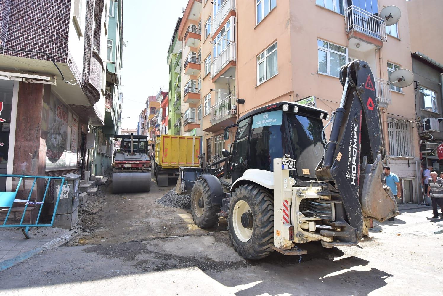 Yavuz Mahallesi sokak sokak yenileniyor